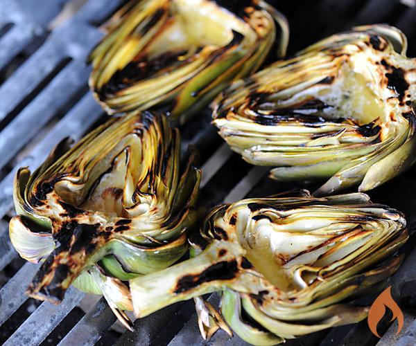 Grilled Artichokes Recipe — Dishmaps