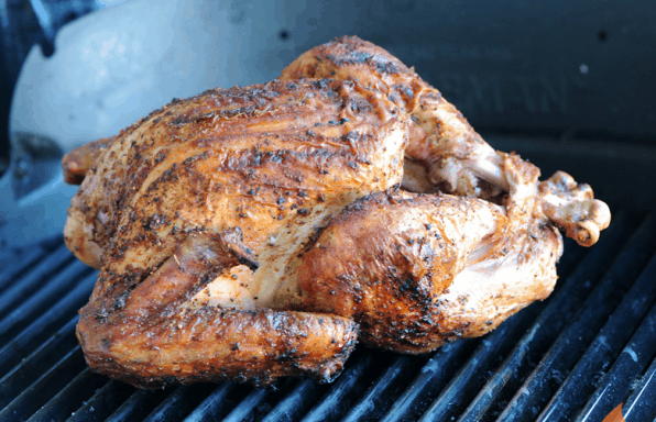 Basic Grilled Turkey from Girls Can Grill