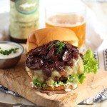 Beef Bourguignon Burger