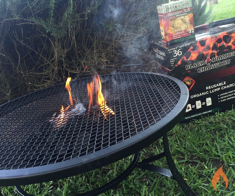 How to make a fire pit grill for Build fire pit grill