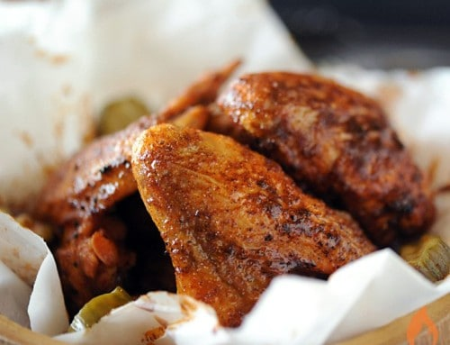How to Grill Crispy Chicken Wings