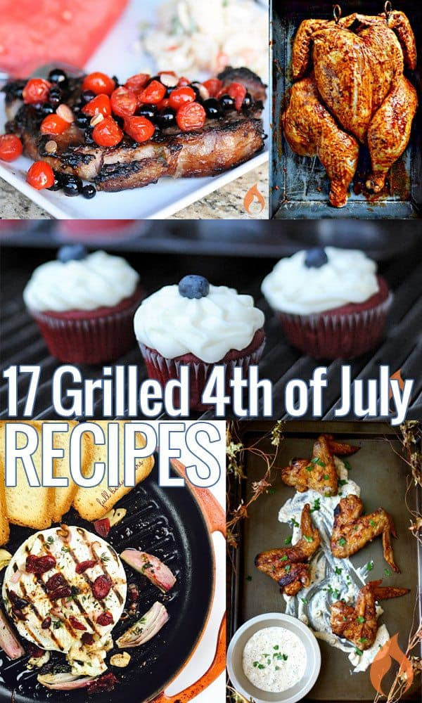 Grilled 4th of July Recipes