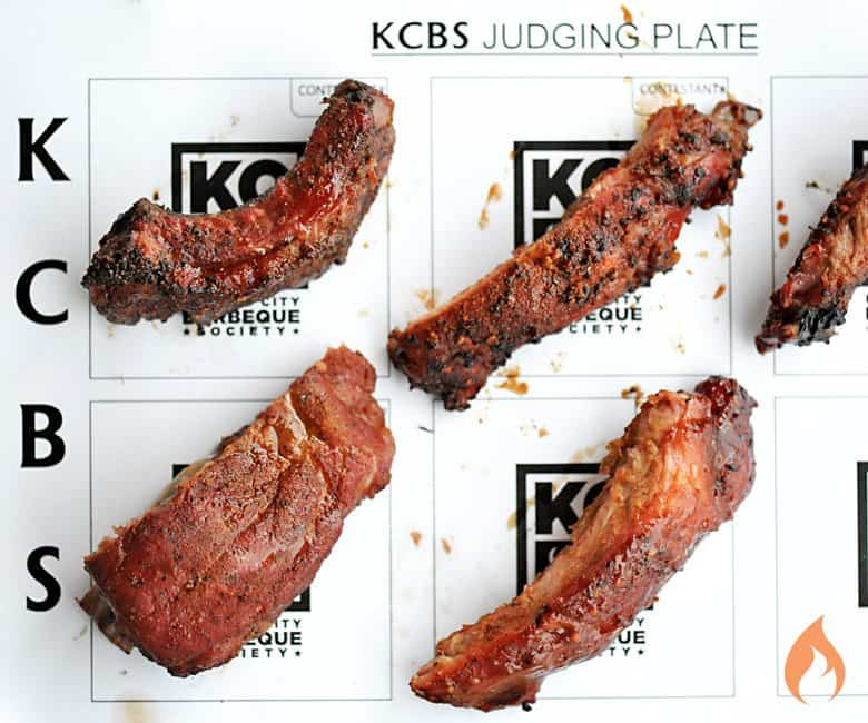 KCBS Judging Plate