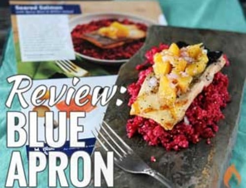 Blue Apron Review: Grilling + Camping