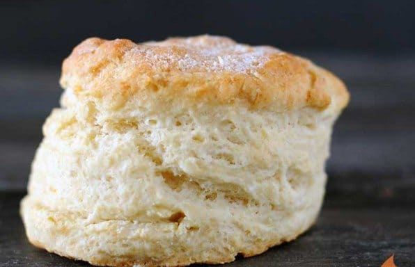 Flaky Southern Biscuits with Greek Yogurt