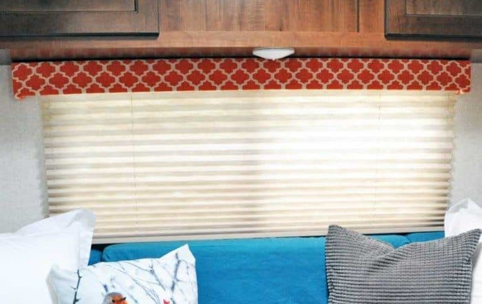 RV Renovation - Valance