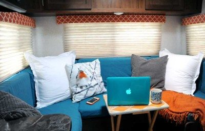 RV Renovation - Dinette