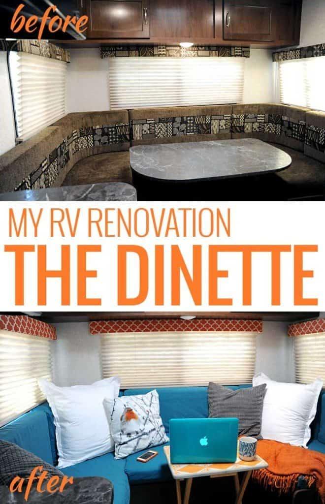 RV Renovation - Dinette