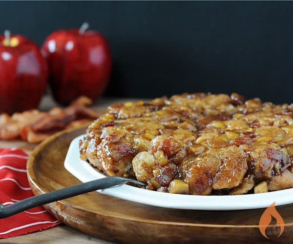 Bacon Apple Monkey Bread | Girls Can Grill
