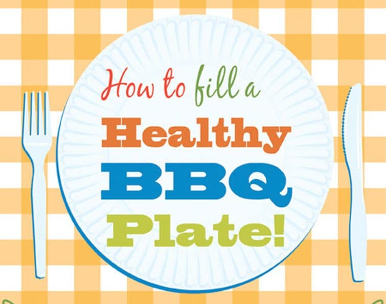 INFOGRAPHIC: How to Fill a Healthy BBQ Plate