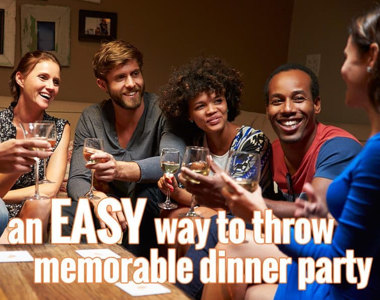 An Easy Way to Throw a Memorable Dinner Party from Girls Can Grill
