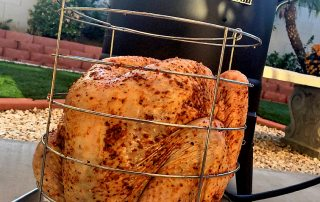 Oil-Less Fried Turkey from Girls Can Grill