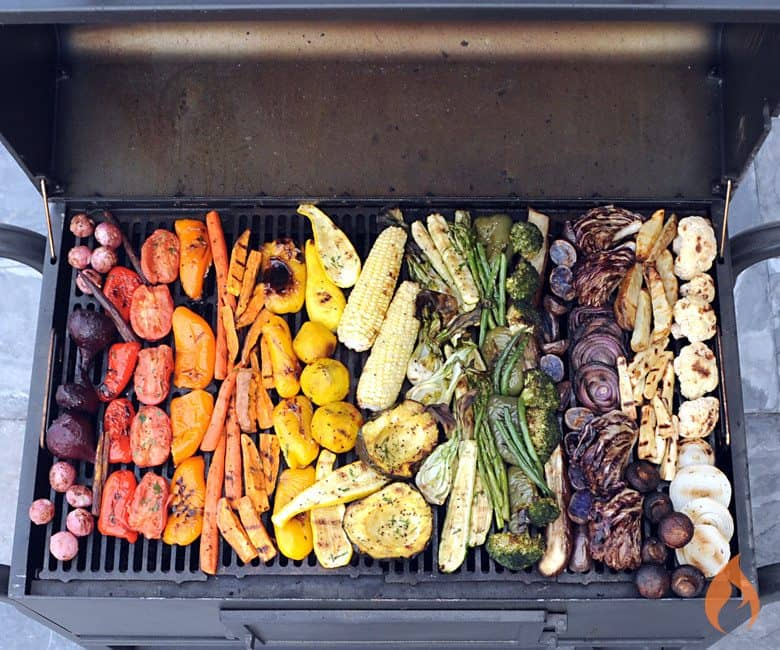 Rainbow of Grilled Vegetables