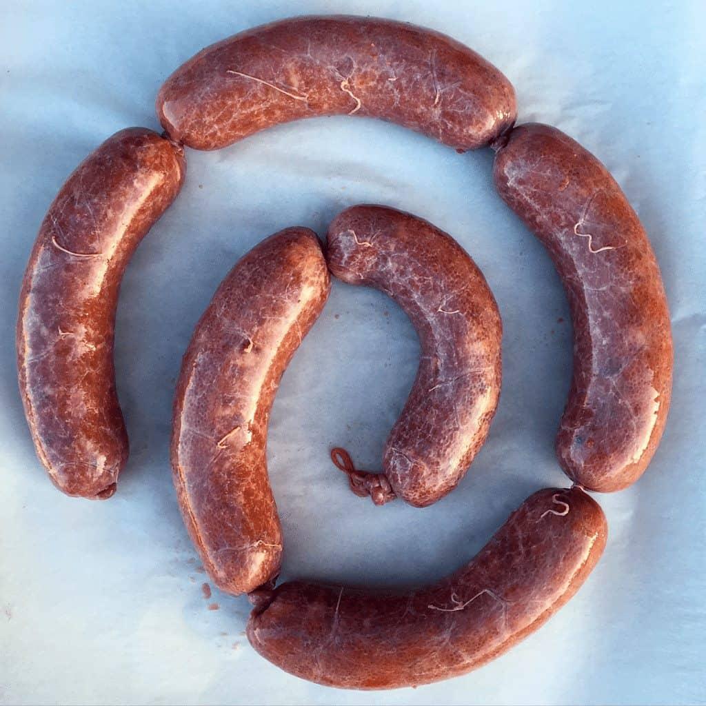 Corned Beef Brisket Sausage