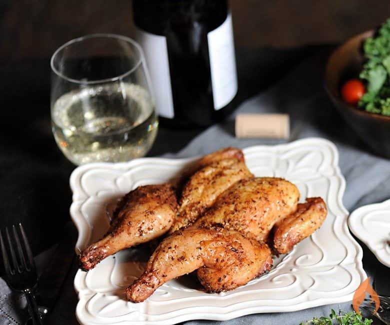 Grilled Cornish Hen