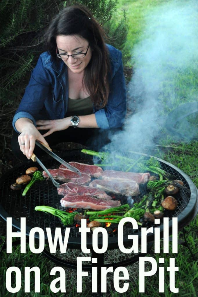 How To Grill On A Fire Pit Girls Can Grill