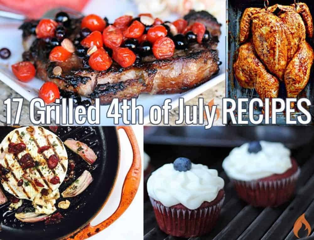 17 Grilled 4th of July Recipes