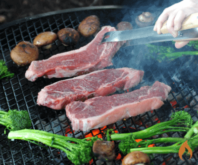 How to Grill on a Fire Pit