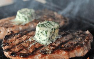 Green Goddess New York Strip Steak