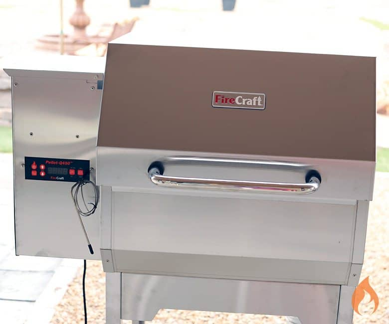 FireCraft Pellet-Q450 Pellet Grill Review