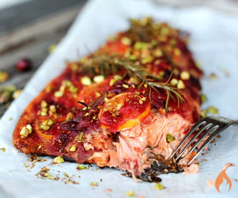 Smoked Cranberry Salmon