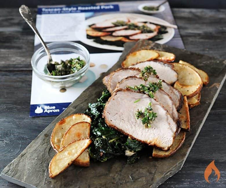Blue Apron Roasted Pork
