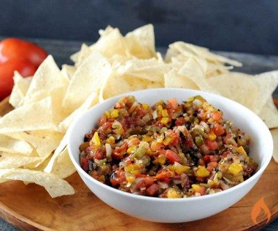 Girlled Salsa