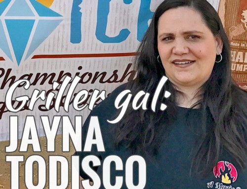 Griller Gal Jayna Todisco