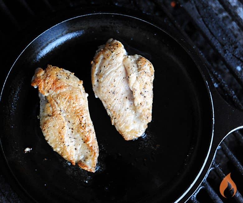 Blue Apron Seared Chicken