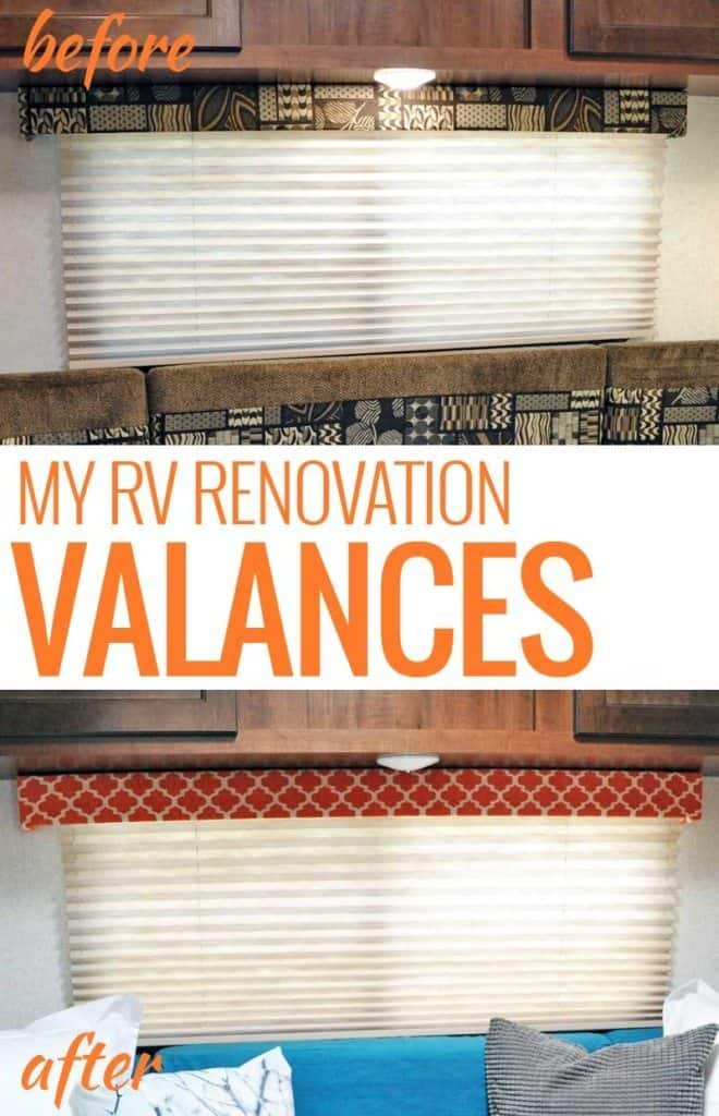 RV Renovation - Valance
