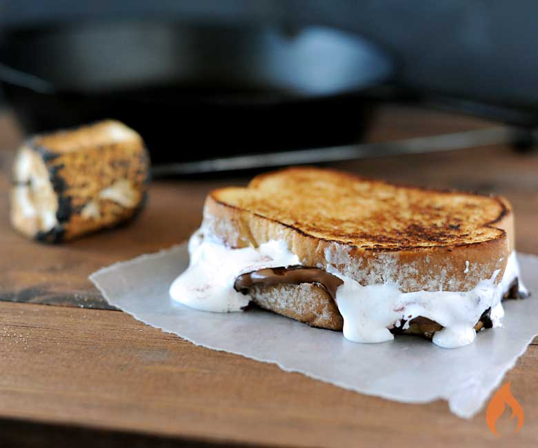 Grilled Smores Sandwich