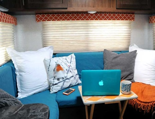How to Renovate the RV Dinette