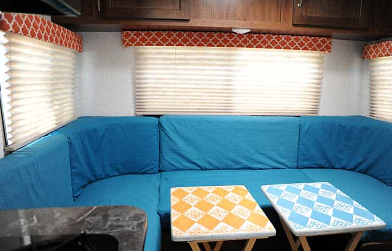 RV Renovation - Couch