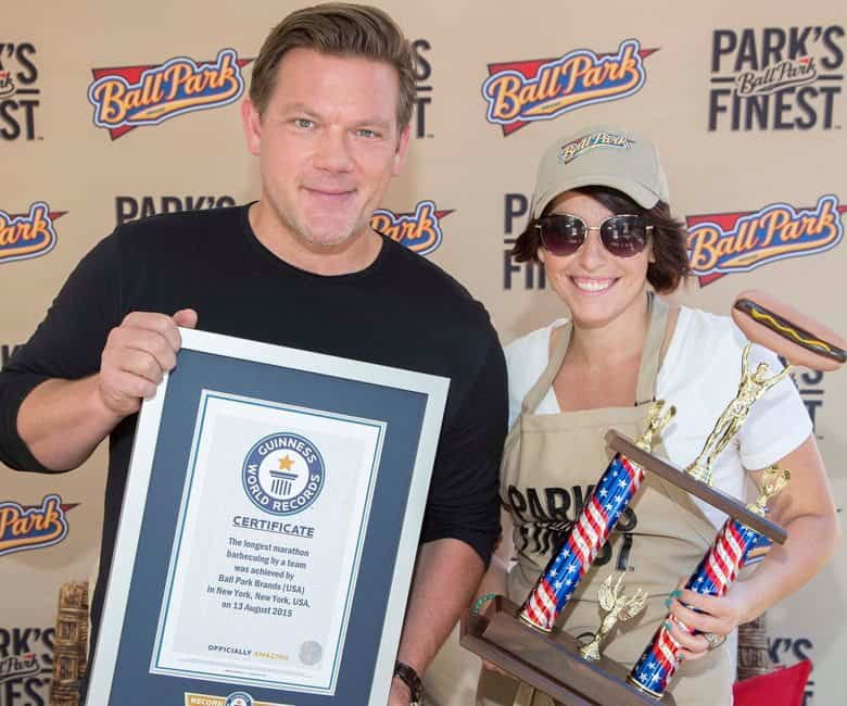 Susie Bulloch and Tyler Florence
