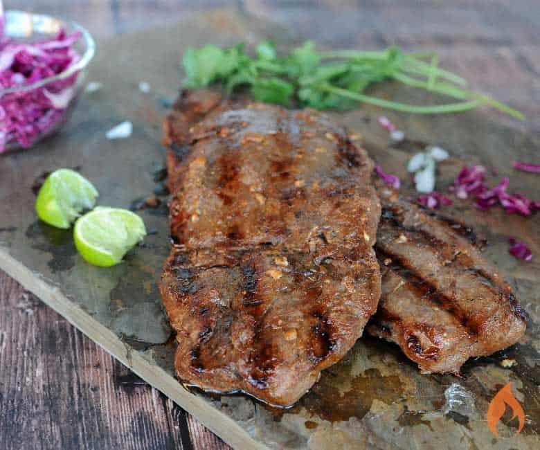 flat iron steak uncliced
