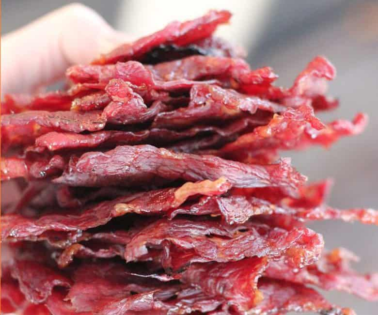 Dr. Pepper Jalapeno Beef Jerky from Hey Grill Hey