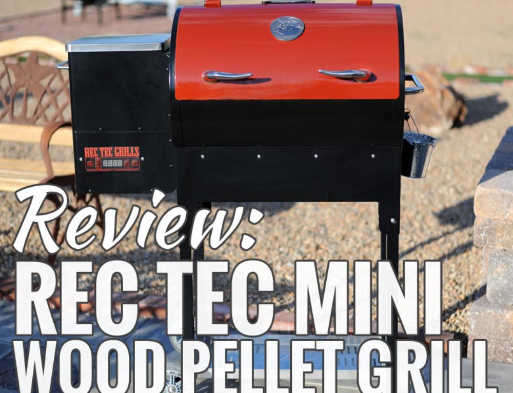 Rec Tec Mini Portable Wood Pellet Grill Review