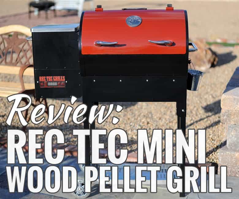 REC TEC Mini Wood Pellet Grill Review