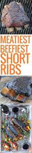 smoked beef rib rack