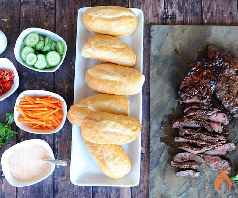 beef banh mi ingredients