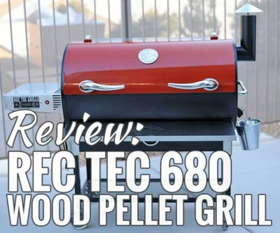 REC TEC 680 Wood Pellet Grill Review