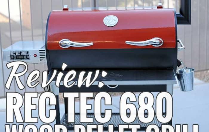 REC TEC 680 Wood Pellet Grill Review