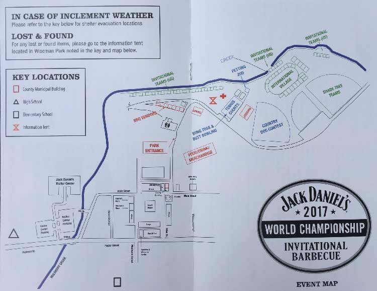 2017 Jack Daniel's World Championship Invitational Barbecue App