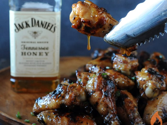 Sticky Tennessee Honey Wings