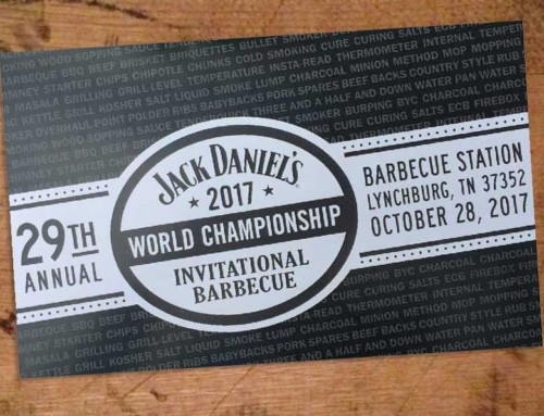 The 2017 Jack Daniel's World Championship Invitational Barbecue