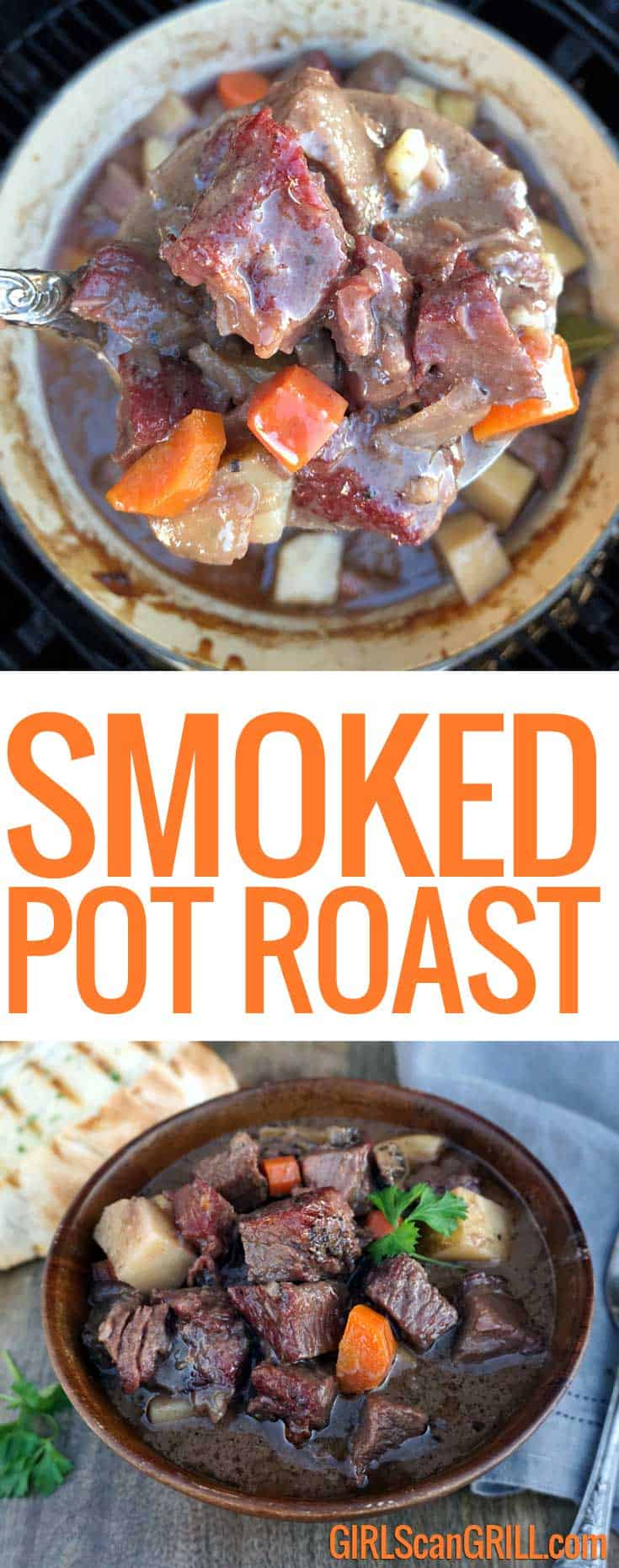 Elevate a family classic – Smoked Pot Roast brings together the traditional flavors of pot roast with a hickory smoked chuck roast braised over the fire.