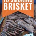 smoked brisket slices