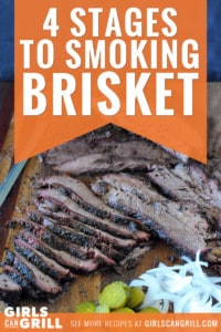 smoked brisket slices