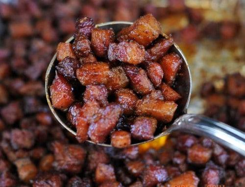 Pork Belly Candy (Baby Pork Belly Burnt Ends)