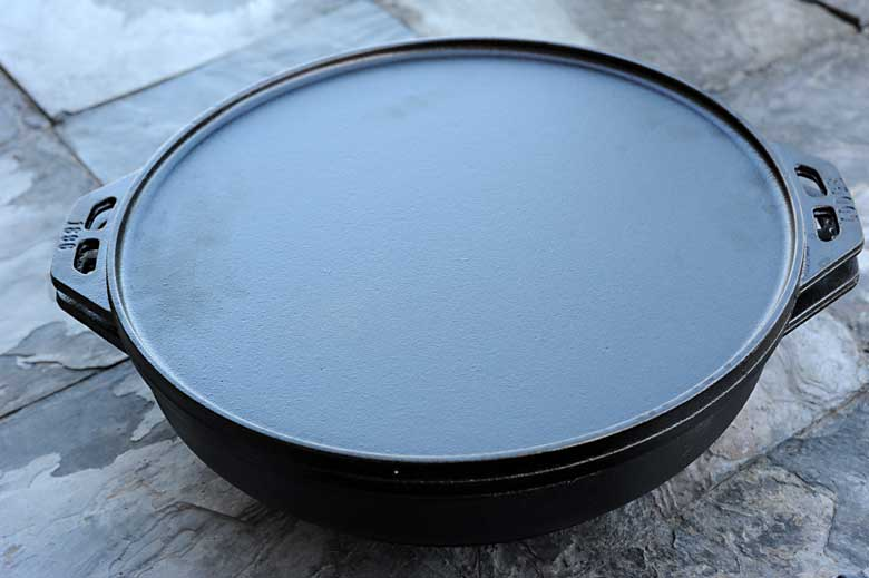 Lodge Cast Iron Cook-It-All griddle